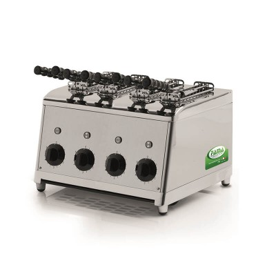 Professional vertical stainless steel toaster. Independent rooms. Model: MTP101 - Fama industries