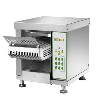 CVT1 Professional rotary toaster in stainless steel, 150 slices per hour - Easy line By Fimar
