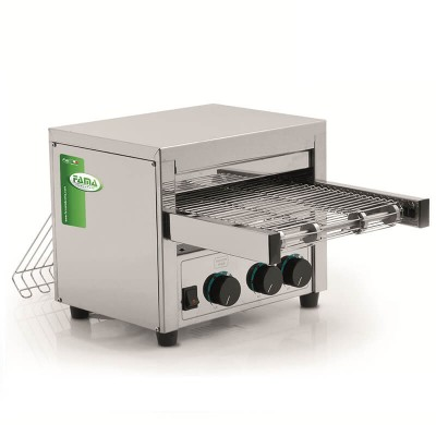 MRT600 Professional rotary toaster , 600 slices per hour. - Fame industries