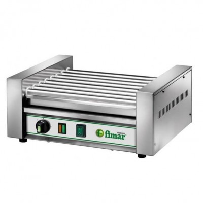 Machine to heat and cook sausages and sausages. Model: RW8 - Fimar