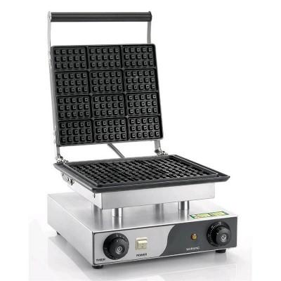 Rectangular waffle machine. Model: WM15 - Easy line By Fimar