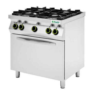 Kitchen 4 burners and gas oven. Model: CC74GFG - Fimar