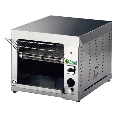 Rotary toaster with stainless steel frame, power 2660 W. Model: TOCS - Fimar