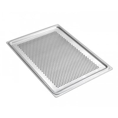 Perforated aluminium tray -