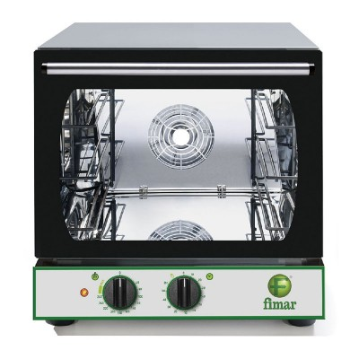 Stainless steel convection oven with timer. CMP332M - Fimar