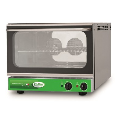 Electric convection oven with stainless steel humidifier. Model: FFM103C - Fama industrie