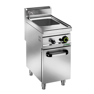 Gas-fired pasta cooker in stainless steel cabinet 30lt. CPM30M - Fimar
