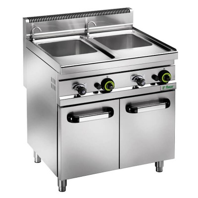 CPM/30DM 10 10 lt gas fired pasta cooker with stainless steel frame - Fimar