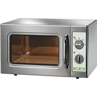 Manual stainless steel microwave oven capacity 30 litres. Model: ME1630 - Easy line By Fimar