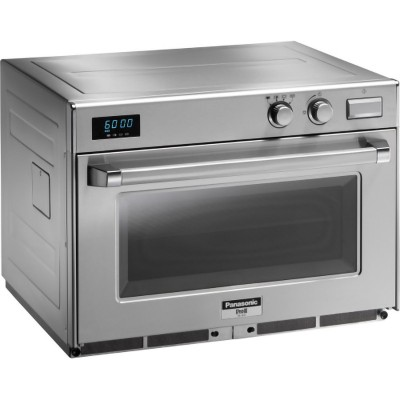 Professional microwave oven for gastronomy and bar. Stainless steel frame, 4 Magnetron. Model: PA-NE3240 - Panasonic