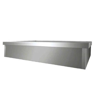 Built-in bain-marie bathtub for Gastronorm 1/1 containers. Model: VBC411 - Forcar