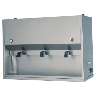Breakfast dispenser equipped with 3 pots of 15 liters. Model: DC1703 - Forcar