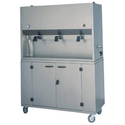 Breakfast dispenser with 3 pots of 15 litres. Model: DMC1701 - Forcar