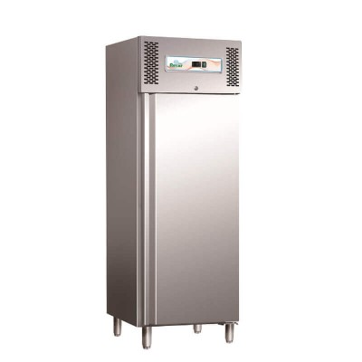 Professional static refrigerator with stainless steel frame. GN600TN - Forcar