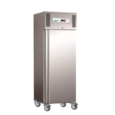 Refrigerator freezer professional static stainless steel. GN600BT - Forcar