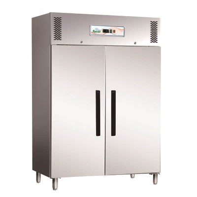 Professional refrigerator -18° -22° with two doors. ECV1200BT