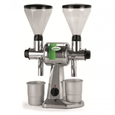 Double professional coffee or pepper grinder, CD series - Fame industries