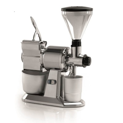 Professional single professional coffee and pepper grinder with grater, GC series - Fame Industries