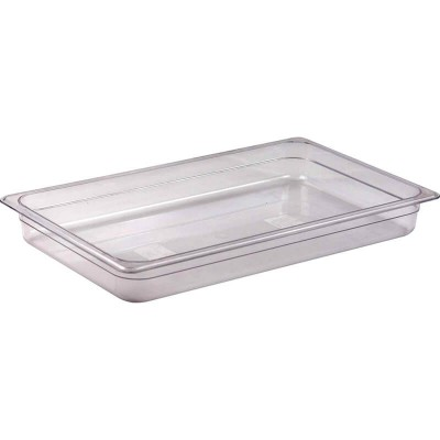 Gastronorm GN 1/1 polycarbonate basin - Forcar