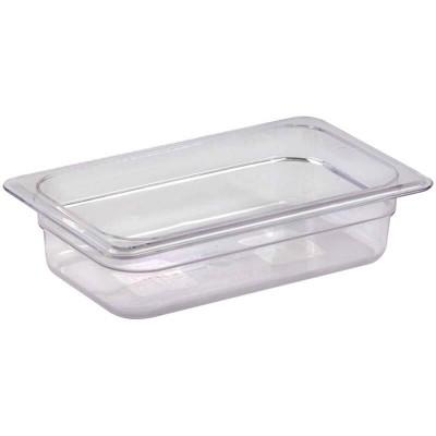 Gastronorm GN 1/4 polycarbonate basin - Forcar