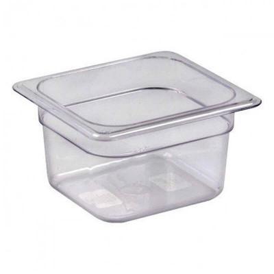 Gastronorm GN 1/6 polycarbonate bowl - Forcar