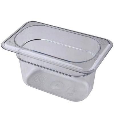 Gastronorm GN 1/9 polycarbonate basin - Forcar