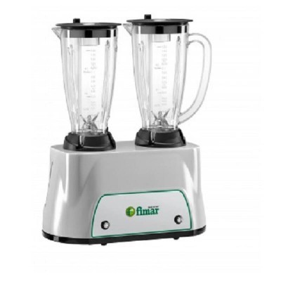 Double blender 2x350 W and capacity 2x1,5 Lt - Fimar