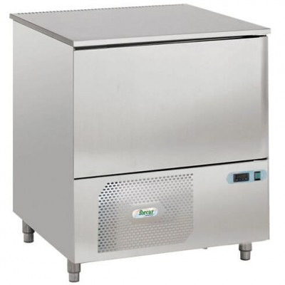 Professional 5-pan blast chiller. AS1105N stainless steel - Forcar
