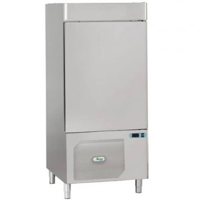 Professional 10-pan blast chiller. AS1110N stainless steel - Forcar