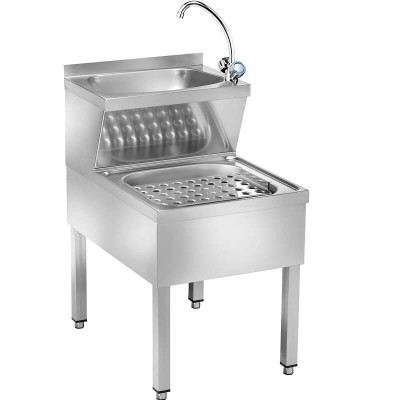 Hand-rinse basin combined with rag washer and mixer - Forcar