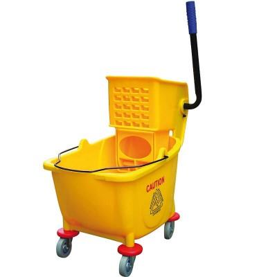 Carrello per pulizie con strizzatore - Forcar