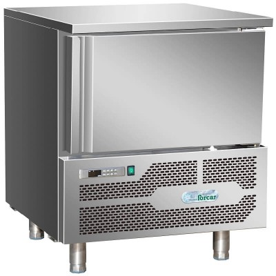Professional blast chiller for 3 GN1/1 or 60x40 trays. AB1203 - Forcar