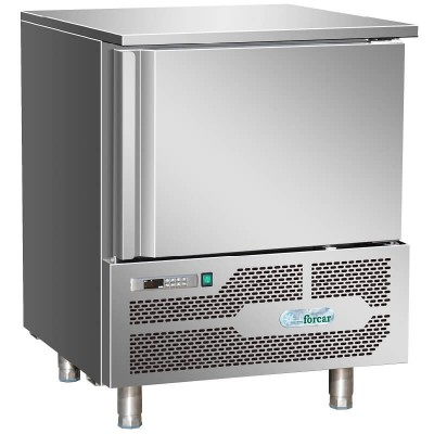 Professional blast chiller for 5 GN1/1 or 60x40 trays. AB1805 - Forcar