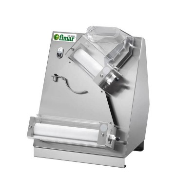 Dilaminator with double pair of rollers for pizza piada and focaccia. FI32N - Fimar