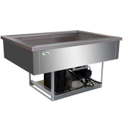 Built-in stainless steel refrigerated tank 3xGN 1/1 - Forcar