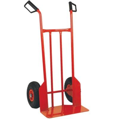 Carrello porta valigie/casse in acciaio, portata 200 kg. - Forcar
