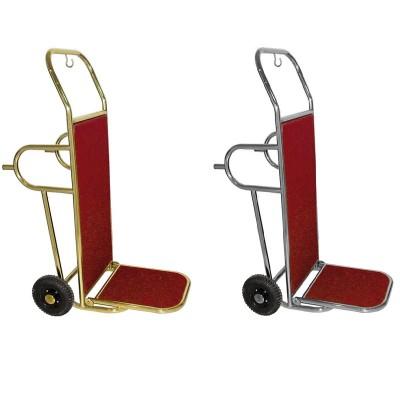 Carrello portavaligie a due ruote, pieghevole - Forcar