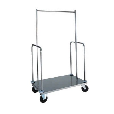 Stainless Steel suitcase and clothes trolley - Forcar