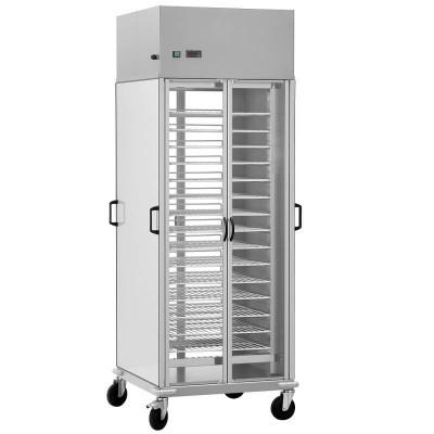 Carrello portapiatti armadiato refrigerato,10 Griglie GN2/1. - Forcar Multiservice