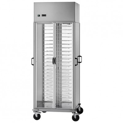Closed plate trolley, refrigerated and ventilated - Forcar
