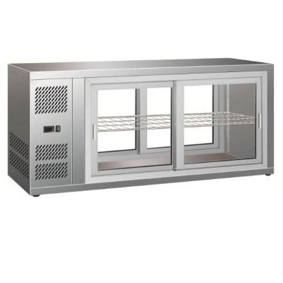 Vetrinetta refrigerata ventilata con porte scorrevoli su entrambi i lati. Modello: HAV111 - Forcar Refrigerati