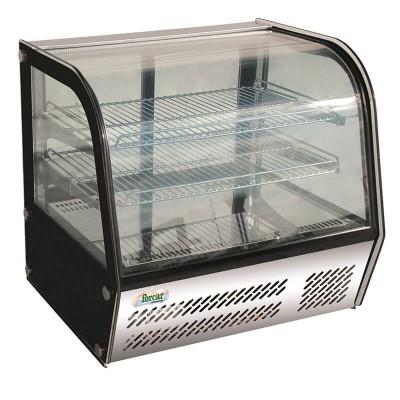 Espositore refrigerato da banco a 4 lati a vetro e luce led. Modello: VPR100 - Forcar Refrigerati