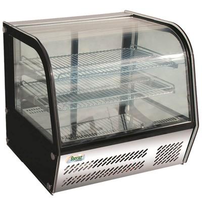 Espositore refrigerato da banco a 4 lati a vetro e luce led. Modello: VPR120 - Forcar Refrigerati