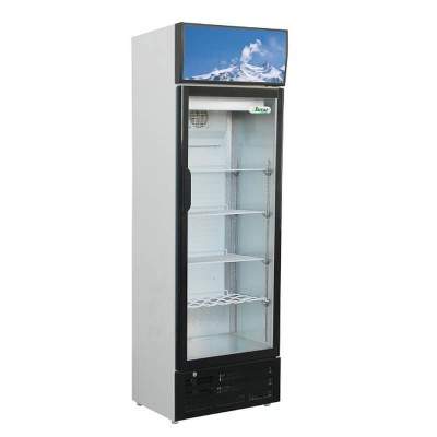 Static refrigerated display cabinet with glass door. Model: SNACK290SC - Forcar