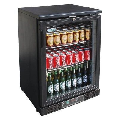 Refrigerated display for single drinks. Model: BC1PB - Forcar