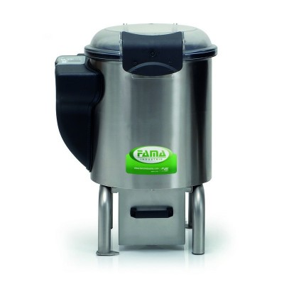 5kg professional electric potato peeler with low base - Fama industries