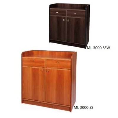Low room service cabinet 2 doors. ML3000SS - Forcar