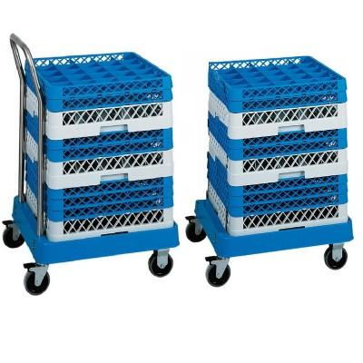 Carrello portacestelli per lavastoviglie in ABS - Forcar