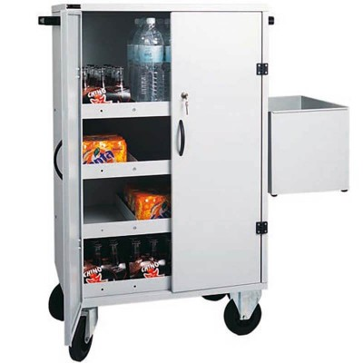 Carrello armadiato per rifrornimento frigo-bar - Forcar