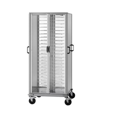 Cabinet trolley with 96 steel plates with 4 doors - Forcar